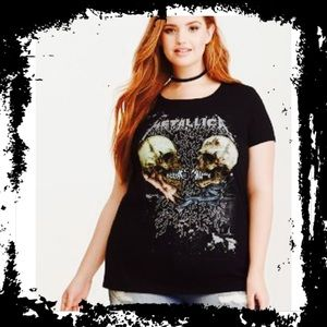 Torrid 2X Metallica Tee NWOT T-Shirt Graphic